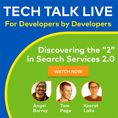October 2020 Tech Talk On Demand
