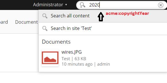 acme:copyrightYear = 2020