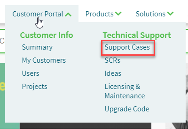 Support Cases