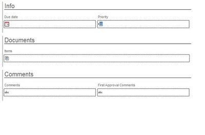 This is First Approval Rejected Form