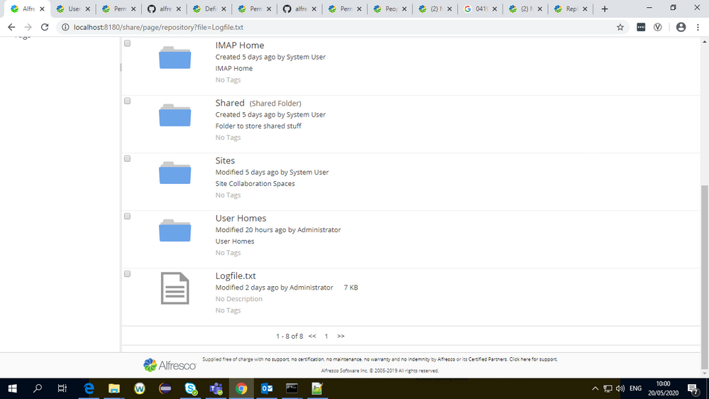 There is no like favourite and comment in document library